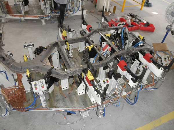 Welding Fixtures Assembly Automation Welding Automation